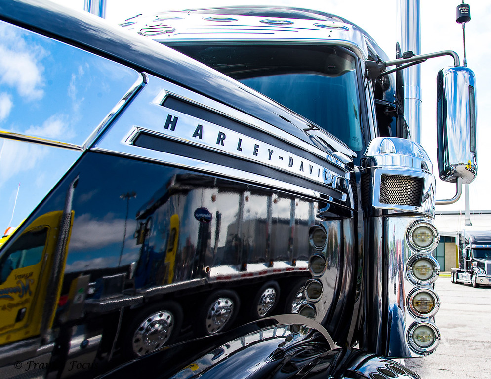 A Limited Edition 2010 International Truck - Harley Davidson Edition.  Only 100 of these International Trucks were produced with the Harley Davidson badging & accessories.