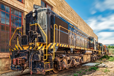 Nevada Northern Railway Museum B-2081