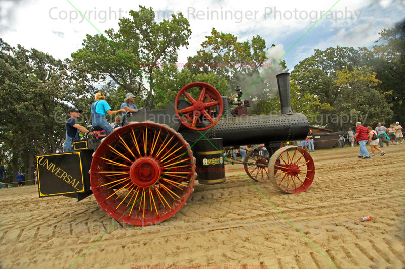 Old Universal Steam Tractor