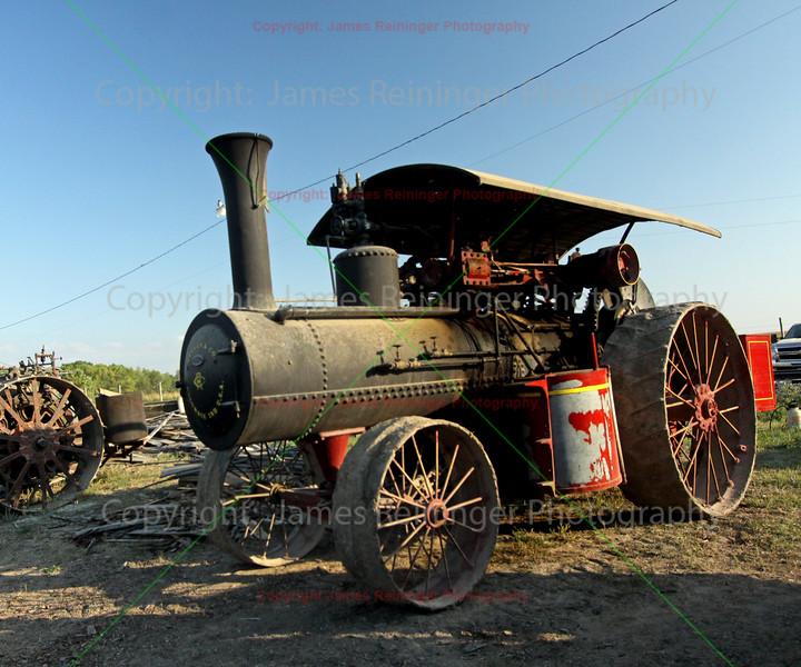 Steam Tractor by Reeves & Company