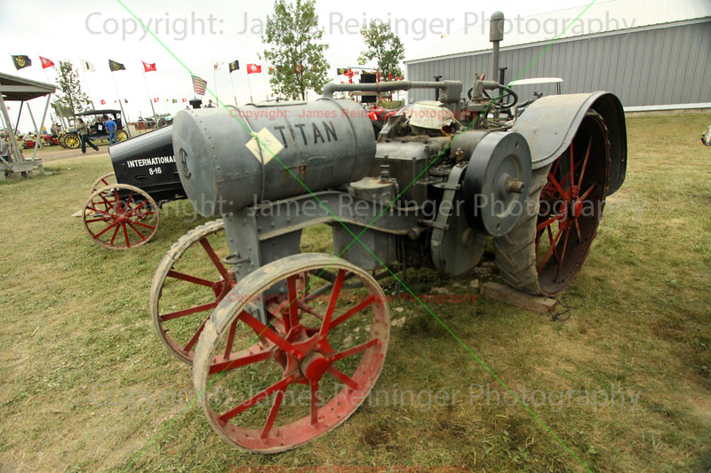 Old Titan Tractor