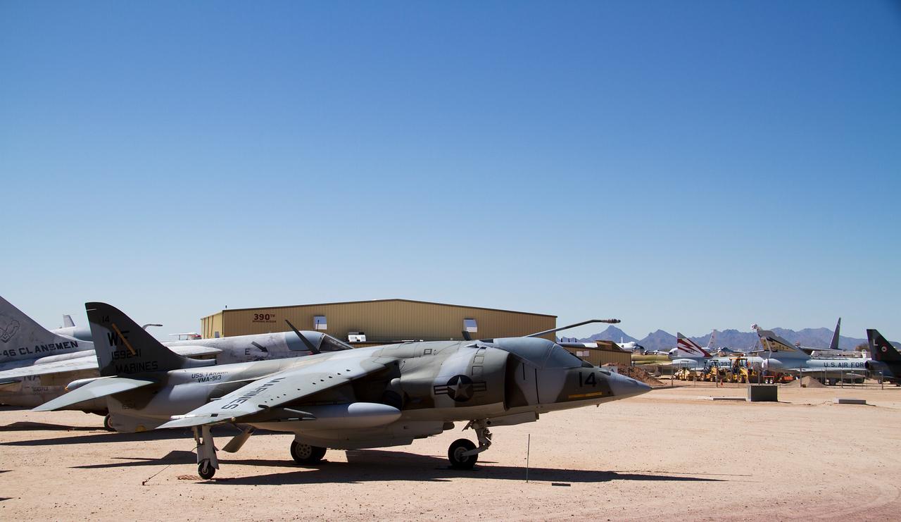 British Aerospace AV-8C Harrier,
