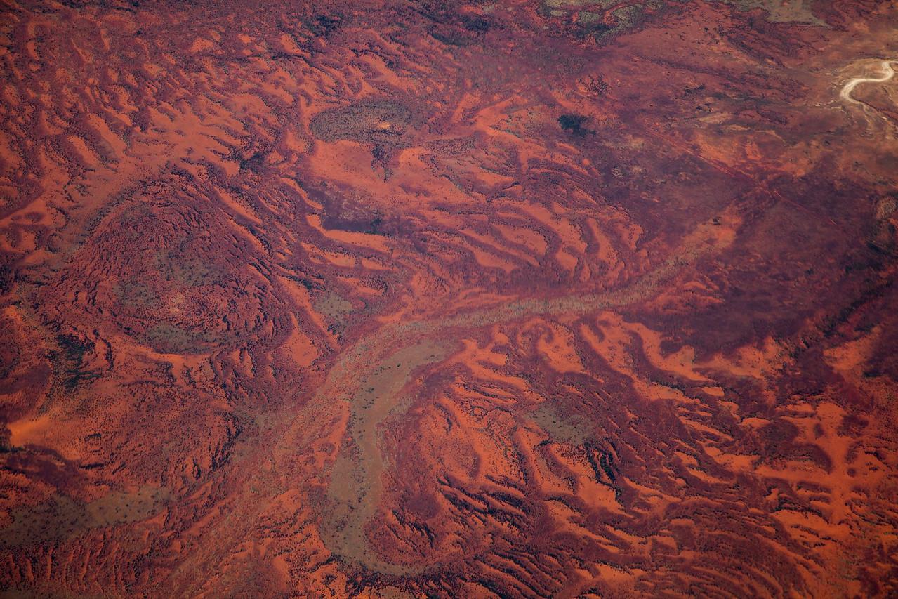 Wrinkled landscape near Capricorn, WA