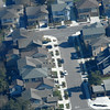 What's every newb that gets up in the air want to do -- see what their house and neighborhood looks like from the air. The pilot was very nice to oblige and we circled mi casa several times before moving on. No one came out to gawk though -- I guess I'm the only aviation nut that runs out of the house to ID passing airplanes (particularly low flying Stearmans...)