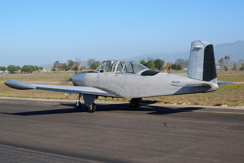 This T-34 dropped in from its home base in Livermore, and it comes to the display days often.
