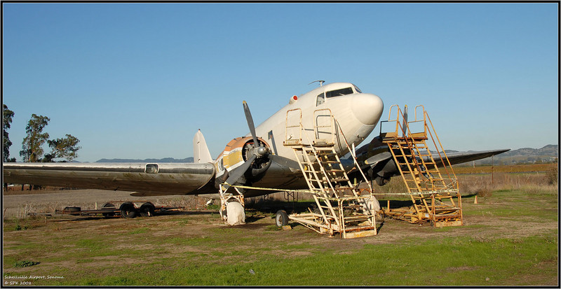 The forgotten DC-3 is just begging from some restoration TLC...