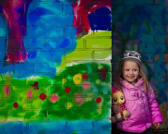 Murals and Girls