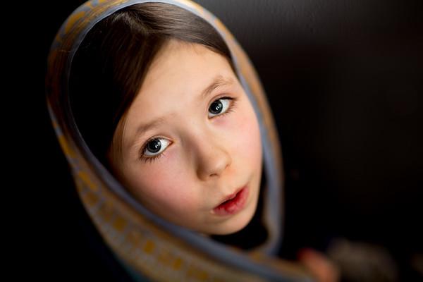 Indian girl in sari
