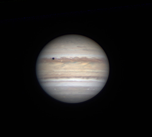 Jupiter and Io transit (July 6, 2019)