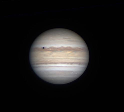 Jupiter and Io transit (July 6, 2019)