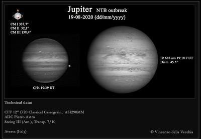Jupiter NTB outbreak (Aug 19, 2020)