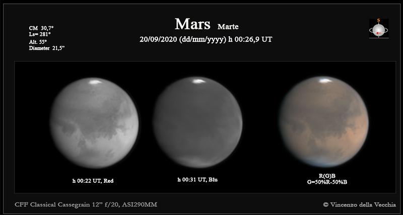 Mars Sept 26, 2020