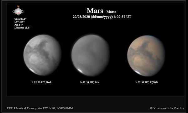 Mars Aug 29, 2020