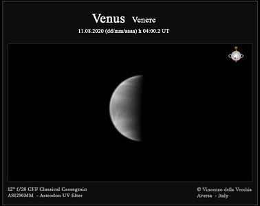 Venus Aug 11, 2020