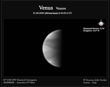 Venus Aug 21, 2020