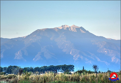 Evo nas rano jutro u Parajliji pogled na planinu Olimp izuzetno lepo vreme