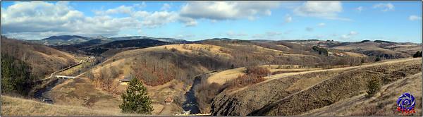 Panoramski snimak Tometinog polja
