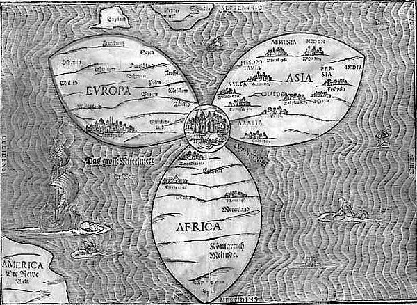 A late 16th-century Map