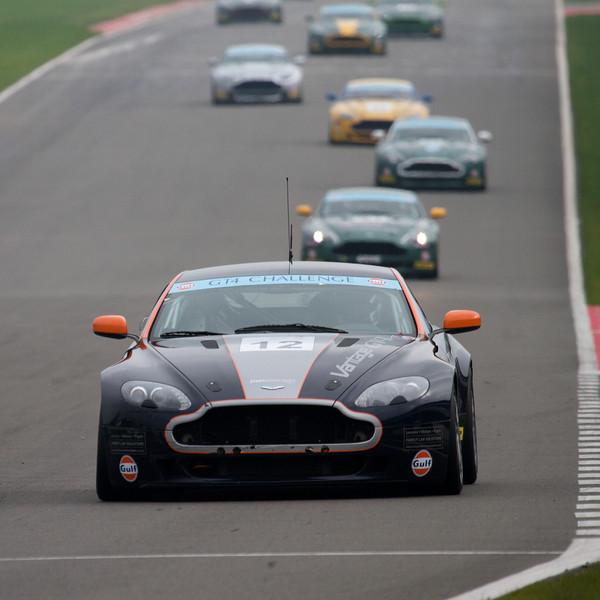 Aston Martin GT4 Challenge Donington Park