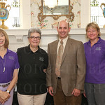 Cheri Casey,Jefferson County Master Gardener Jan Eastburn, keynote speaker and author Richie Steffen, Jeannene Fizer.