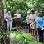 The event included a visit to the Ralph Archer Woodland Garden at Whitehall.