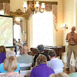 Whitehall\'s Landscape Director Mike Hayman introduced the keynote speaker.