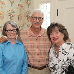 Leslie Pancratz, Whitehall\'s Landscape Director Mike Hayman and Mary Anne Thornton.