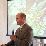The keynote speaker was noted plant curator Richie Steffen.