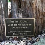 Dedication plaque at Whitehall.