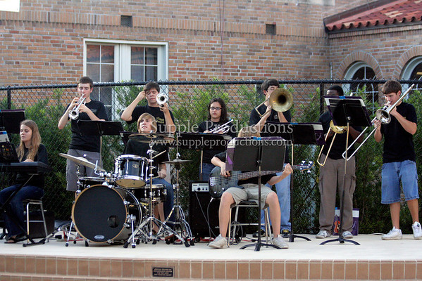 Plant Band Courtyard Dedication
