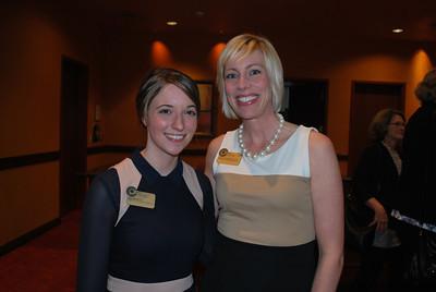 Amy Benincosa and Meredith Brunen