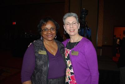 Grace Woodsen and Pam Nash