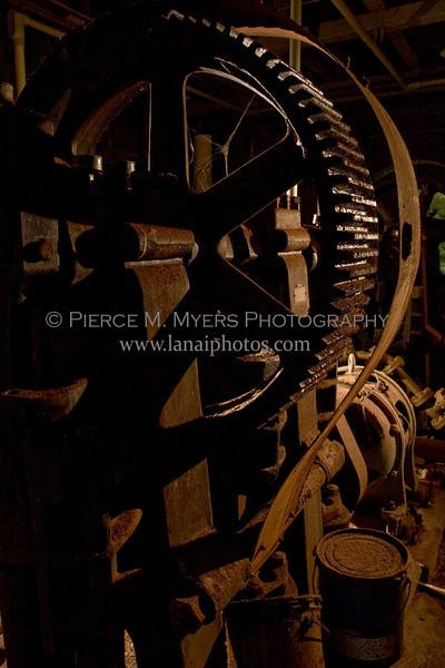 Maunalei Pumphouse Machinery