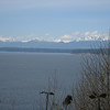 Miller Garden<br /> View of the Olympic Mountains from the deck