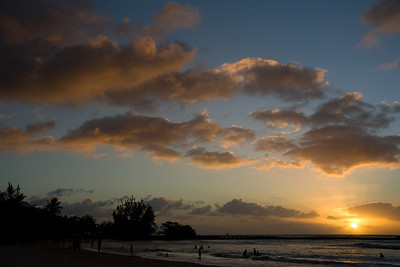 The sun going down in Barbados. Had to take a few shots didn't i.
