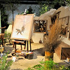 Wyeth art studio diorama