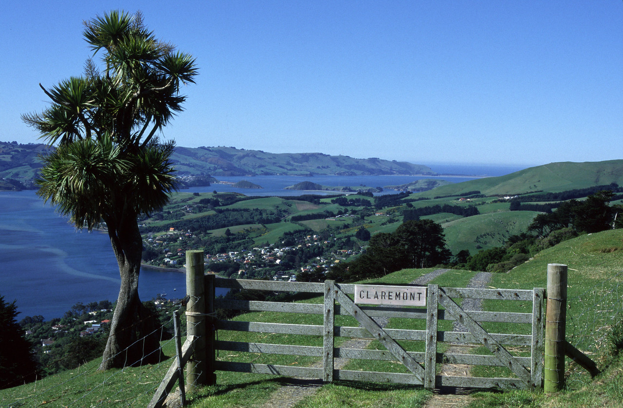 Claremont, Highcliff Road. Otago Peninsula