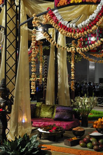 India - pagoda - 2010 Philadelphia Flower Show