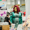 Cheril MacDonald, of Malden, dresses as Fiona from Shrek during the Plastic City Comic Con held at the Wallace Civic Center in Fitchburg on Saturday, July 29, 2017. SENTINEL & ENTERPRISE / Ashley Green