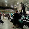 Fans snap photos of Batman during the Plastic City Comic Con held at the Wallace Civic Center in Fitchburg on Saturday, July 29, 2017. SENTINEL & ENTERPRISE / Ashley Green