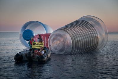 Acción plásticos en el Mediterráneo