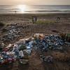 """Recogida de residuos en la playa de Alborada, Valencia.  """"Mejor sin Plásticos"""""""