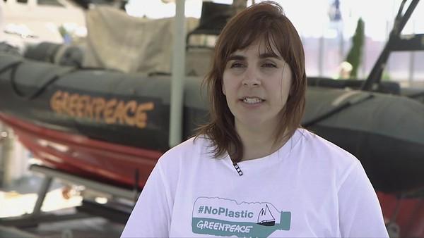 Declaraciones en inglés de Elvira Jimenez, responsable de océanos en Greenpeace