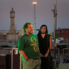 Concierto de Anni B. Sweet a bordo del buque insignia de Greenpeace, el Rainbow Warrior, en Barcelona