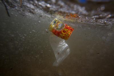 Plásticos submarinos
