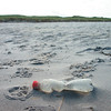 Plastic Garbage on North Sea Coastline in Germany Plastikmüll an der Nordsee