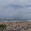 Vídeo brutos limpieza de playa
