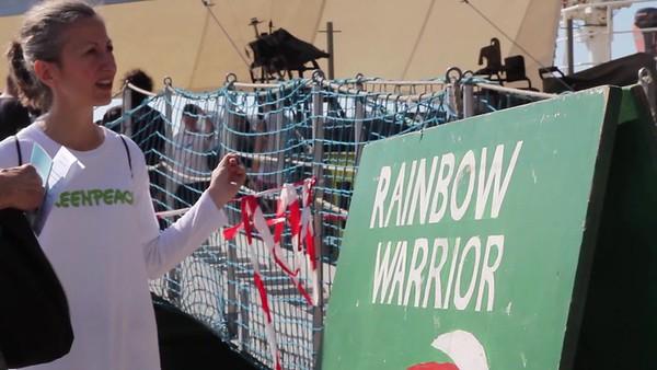Brutos Rainbow Warrior en Barcelona