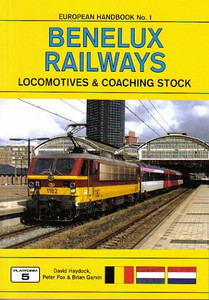 2008 Benelux Railways Locomotives & Coaching Stock, 5th edition, by David Haydock, Peter Fox & Brian Garvin, published August 2008, 192pp £18.95, ISBN 1-902336-64-0. Cover photo of SNCB electric 1182.