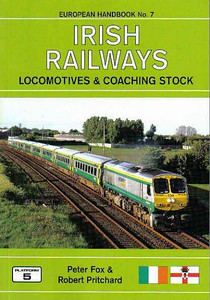 2008 Irish Railways Locomotives & Coaching Stock, 2nd edition, by Peter Fox & Robert Pritchard, published March 2008, 80pp £12.95, ISBN 1-902336-58-9. Cover photo of IR 234.